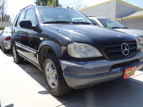 1998 mercedes benz ml320 buy here pay here car dealers no credit check car loans youtube. Black Bedroom Furniture Sets. Home Design Ideas