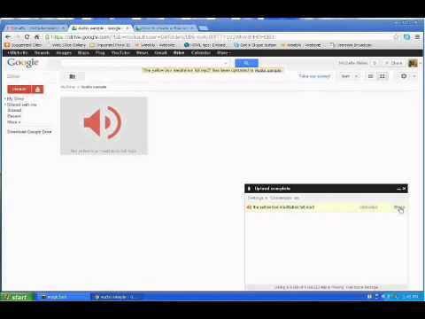 How to create a download link for your audio