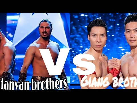 The most dangerous act vardanyan Brothers vs Giang brothers on Britain got talent