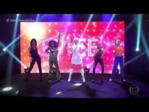 Sophia Abrahão feat. Spice Girls Vídeo Show - Say You'll Be There (Clipe)