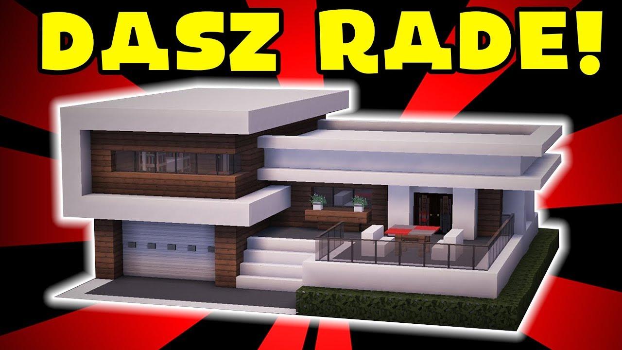 Minecraft Jak Zbudowac Wille Modern 17 Youtube