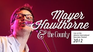"Mayer Hawthorne & the County ""The Walk"" live at Java Jazz Festival 2012"