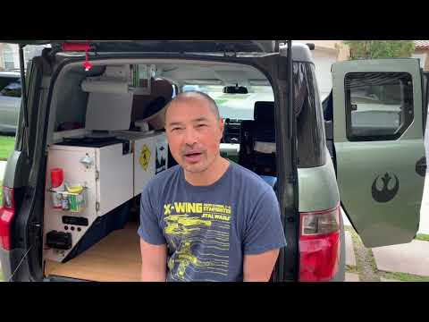 Honda Element Micro RV. 45. All done! For now.