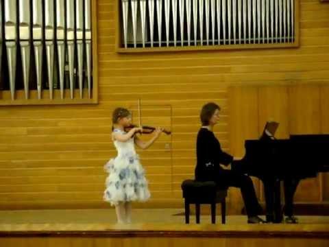 Violin. Dvorak. Gipsy song. А.Дворжак Цыганская песня