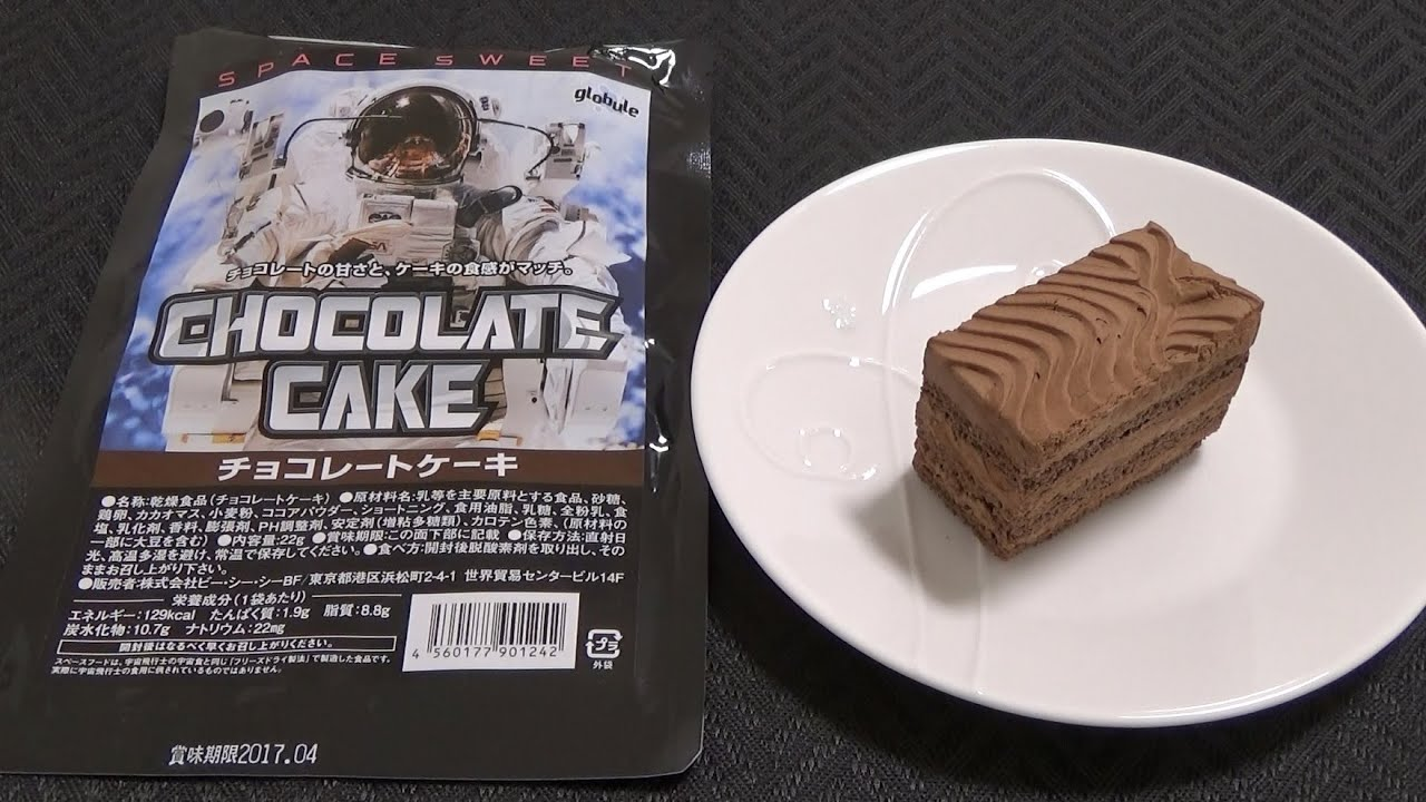 You Can Eat 👽 Space Food 1 Chicken Rice Chocolate Cake