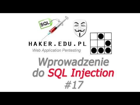 #17 Wprowadzenie do SQL Injection, phpMyAdmina i MySQL w teorii