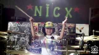 Good Charlotte - The River Drum Cover by 8 yo girl Kalonica*NICX*