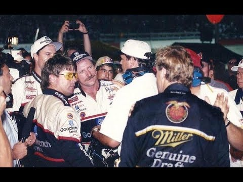 Rusty Wallace Talks About The Dale Earnhardt Water Bottle Incident