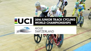 Day 5 - 2016 UCI Junior Track Cycling World Championships