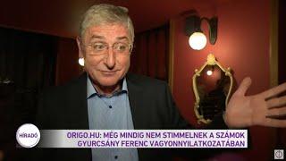 Origo.hu: Még mindig nem stimmelnek a számok Gyurcsány Ferenc vagyonnyilatkozatában