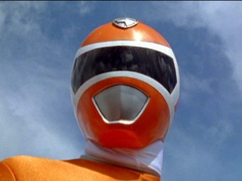 Orange Ranger in Power Rangers S.P.D.