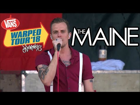 The Maine - Full Set (Live Vans Warped Tour 2018) Last Warped Tour...