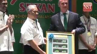 Muhyiddin praises national athletes for winning ASEAN Schools Games
