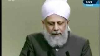 Проповедь Хазрата Мирзы Масрура Ахмада (17-09-10) часть 5