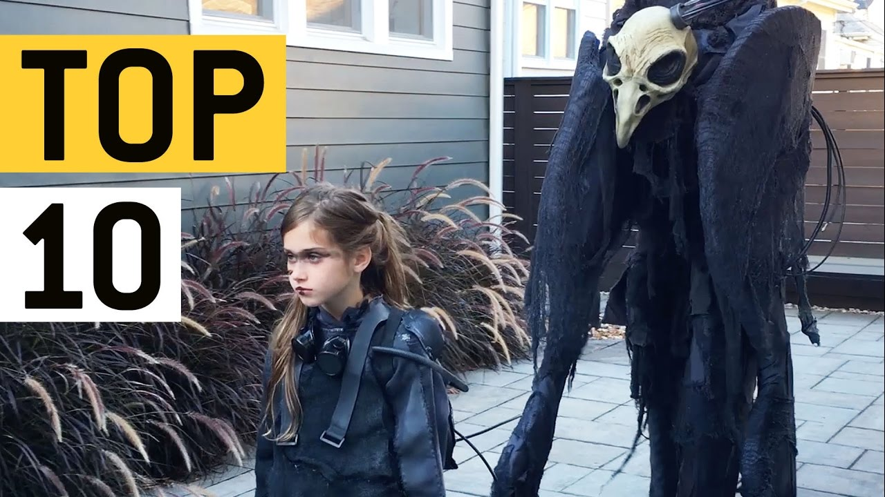 top 10 halloween costume ideas jukinvideo top ten youtube