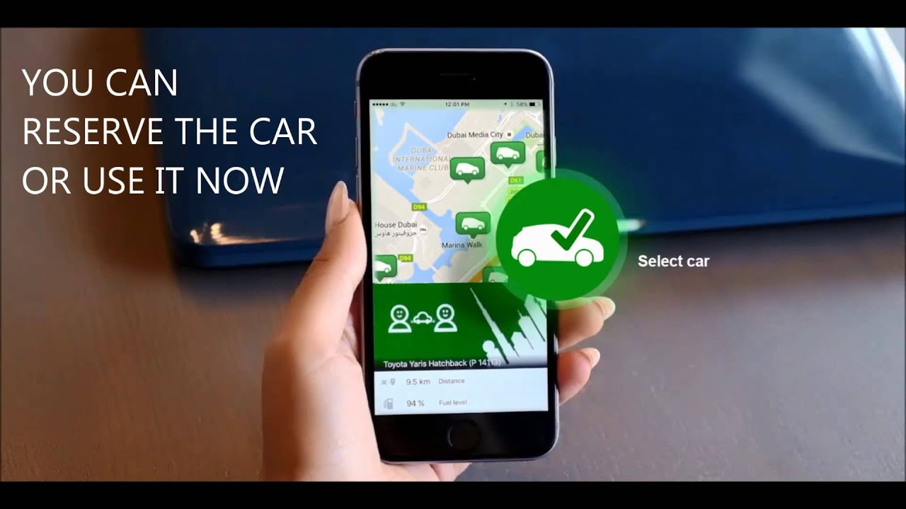 Dubai Udrive App based rent a car