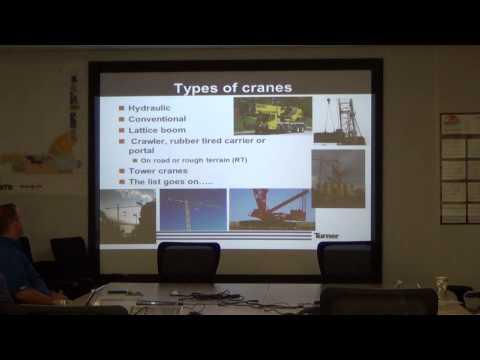 Sup Training 7 18 14 Crane & Rigging Part 1