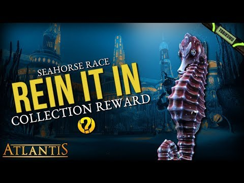 "DCUO Episode 33: ""Rein it In"" Collection - Atlantean Seahorse Pet Trinket"