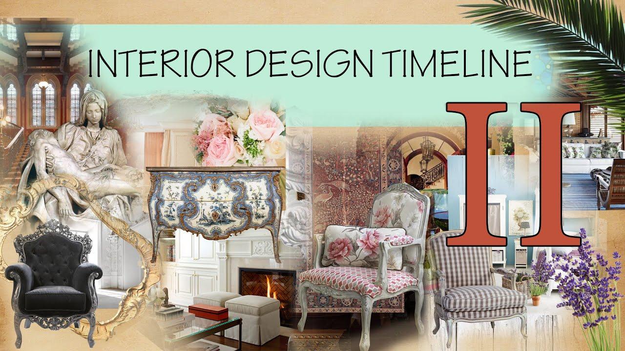 Interior Design Timeline 2   YouTube