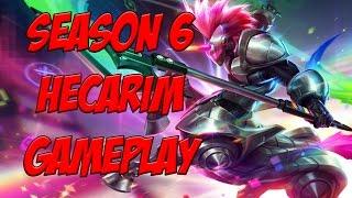 Pre-Season 6 Hecarim Build + Gameplay [League Of Legends]