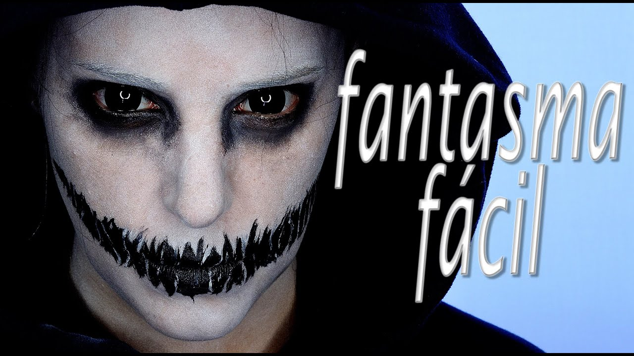 Tutorial maquillaje halloween fantasma f cil makeup fx 61 for Cara pintada diablo