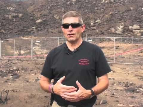 Granite Mountain Hotshot Shelter Deployment Site, Yarnell, AZ 7  23 2013