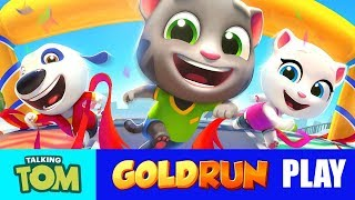 Talking Tom Gold Run Play on Mobile