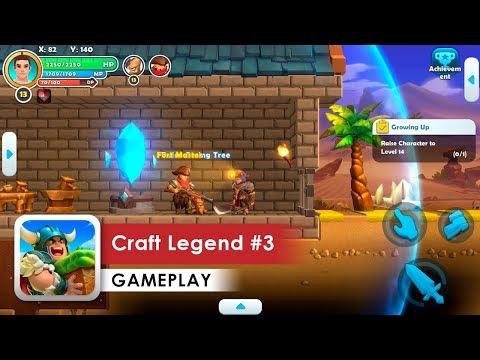 Craft Legend Walkthrough #3 HD (iOS & Android)