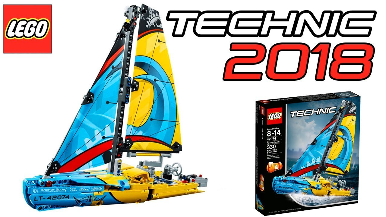 lego technic 2018 racing yacht set 42074 official images. Black Bedroom Furniture Sets. Home Design Ideas