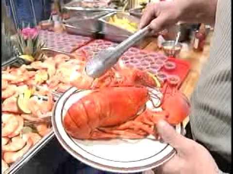 nordic lodge charlestown ri phantom gourmet youtube rh youtube com buffet in rhode island with lobster seafood buffet in rhode island