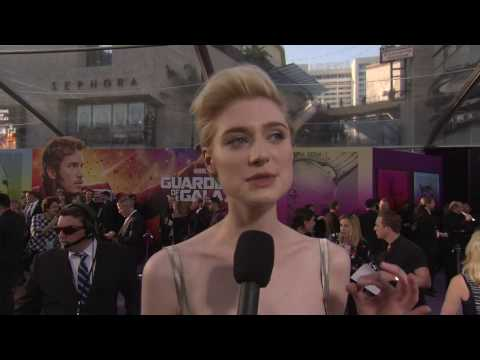 "Guardians of the Galaxy Vol. 2: Elizabeth Debicki ""Ayesha"" Red Carpet Movie Premiere Interview"