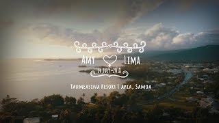 Amy & Lima \\ Samoa Wedding Cinematic