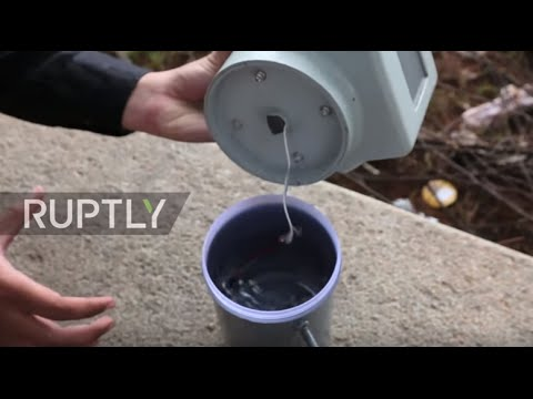 India: Engineering student invents device to turn air into water