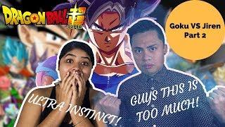 GOKU VS JIREN Dragon Ball Super Episode 109 & 110 REACTION! Part 2 Boyfriend and Girlfriend Reaction