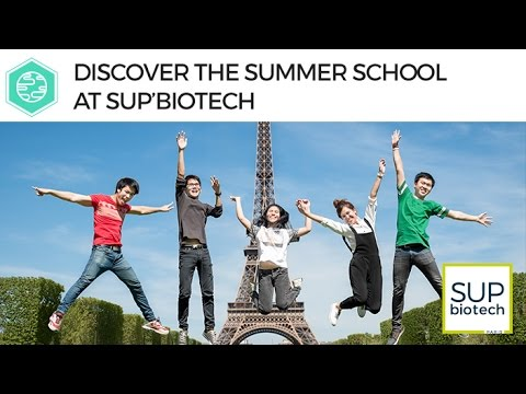 Discover the Summer School at Sup'Biotech