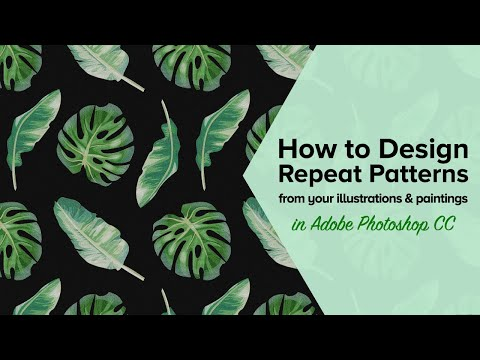 Pattern Design: Patterns for Printed Textiles and Products - The PatternBase for SkillShare.com