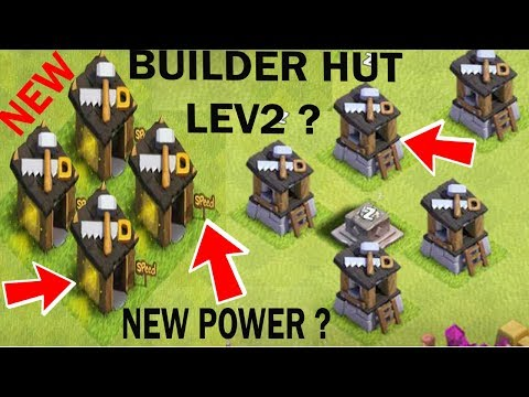 (HINDI) New Builder Hut Upgrade level 2 ??? in clash of clans