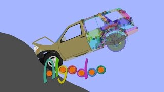 Algodoo crashable car tutorial