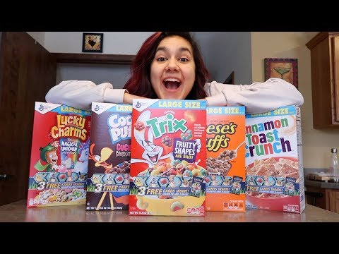 BUYING ALL THE POKEMON CARD CEREAL!