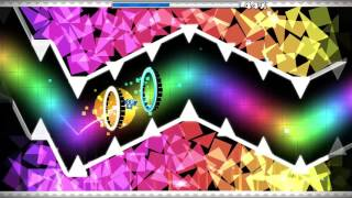 Geometry Dash - Rainbow Carol By GD Quasar (Insane 9* or Easy Demon)