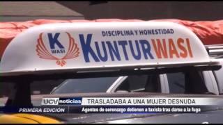 El Porvenir: Detienen a sospechoso de asaltar a taxista