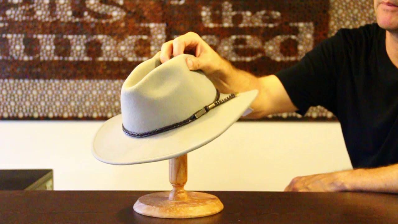 Jacaru 1847 Outback Fedora Hat
