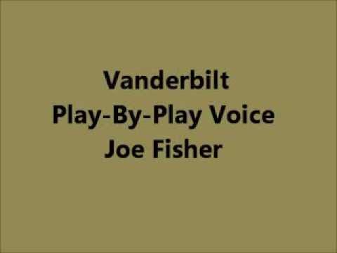 Vanderbilt Play-By-Play Voice Joe Fisher