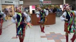 Танцевальный ансамбль Веренея выступает в Голуэе