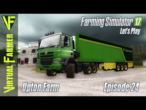 Upton Farm, Episode 24: Making Products From Milk | Let's Play Farming Simulator 17