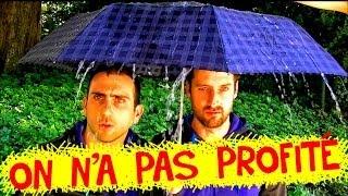 ON N'A PAS PROFITÉ (Clip officiel) - Les Décaféinés