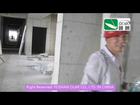 Foshan Olar Fiber Cement Sandwich panel wall