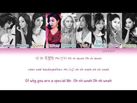 Girls' Generation (소녀시대) - Mr.Mr. (Color Coded Han|Rom|Eng Lyrics) | by Yankat