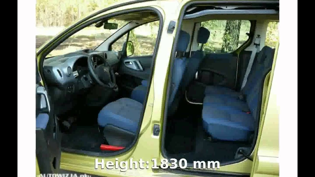2005 citroen berlingo 2 0 hdi multispace plus details specification youtube. Black Bedroom Furniture Sets. Home Design Ideas