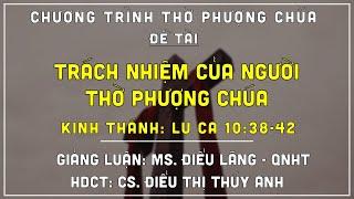HTTL TÚC TRƯNG - Chương trình thờ phượng Chúa - 11/07/2021